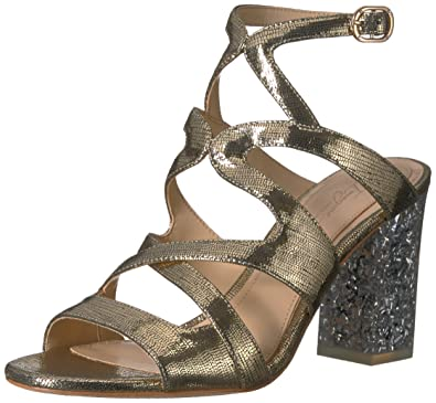 7a3e264789ef Imagine Vince Camuto Women s Zahira Heeled Sandal Soft Gold 5 Medium US
