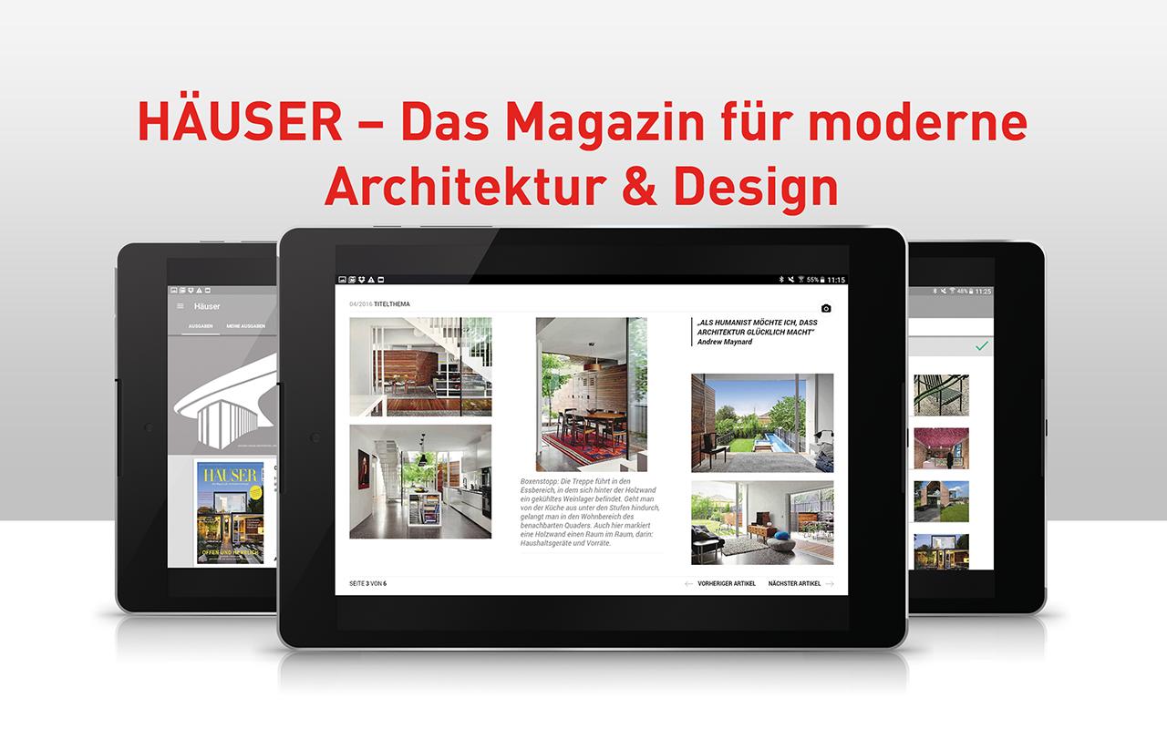 Amazon.com: Häuser   Das Magazin für moderne Architektur und Design ...