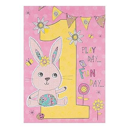 Hallmark - Tarjeta de felicitación de primer cumpleaños ...