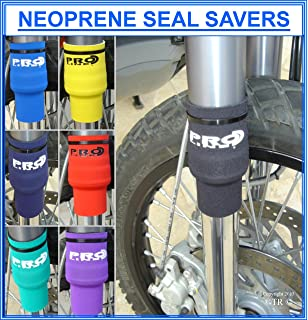 Designed to protect front fork suspension legs helping to prevent expensive damage to fork seals and chrome stauntions NEOPRENE FORK LEG GAITERS Stock Colour BLACK Supplied in Pairs 30mm diameter x 240mm Length All sizes from stock see our SHOP P