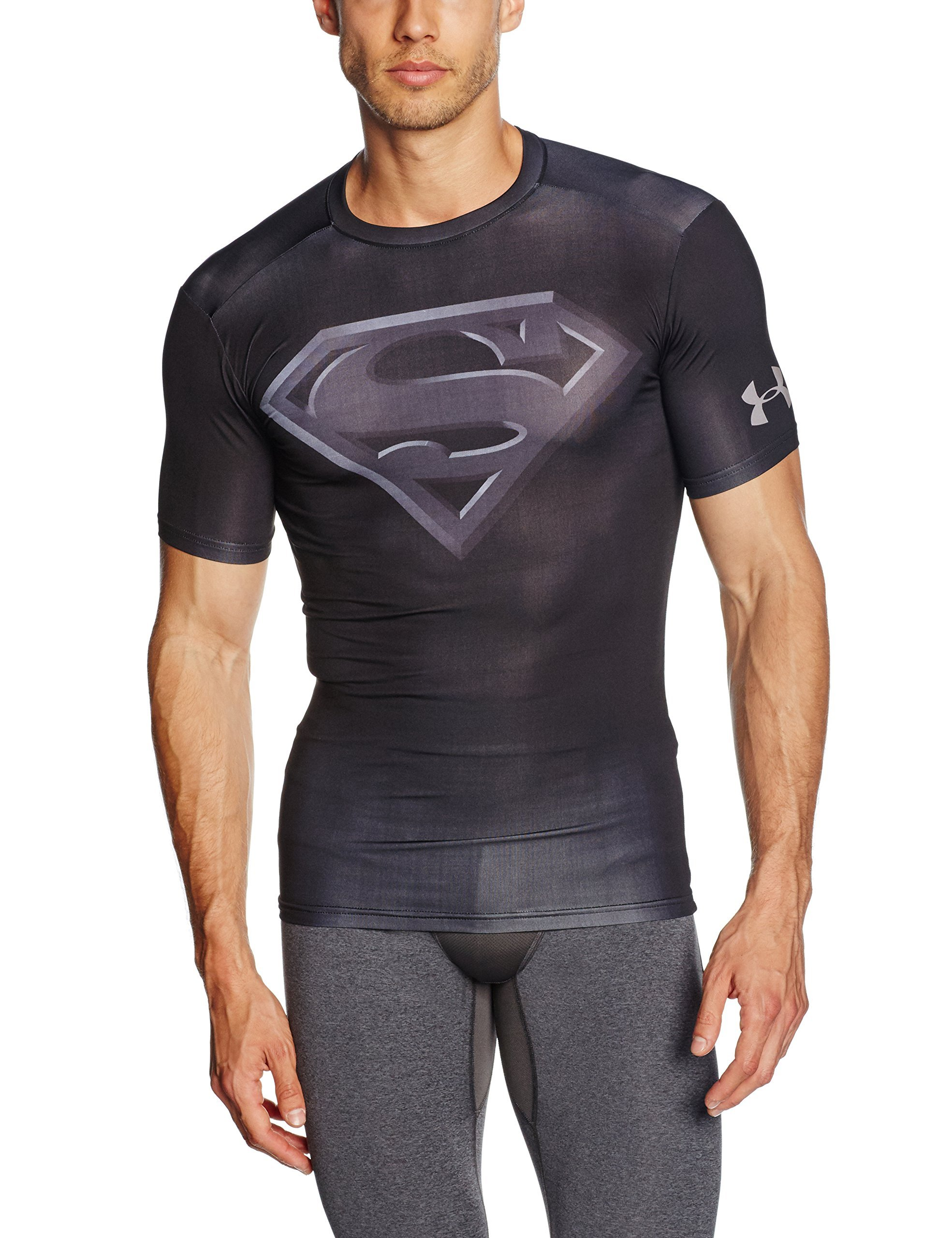 Under Armour Short Sleeve Alter Ego Compression T-Shirt - SS17 - Medium - Black