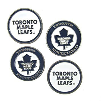 31e06b3feaf Toronto Maple Leafs Golf Ball Markers (Set of 4)  Amazon.ca  Sports    Outdoors