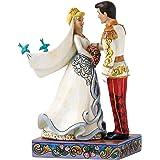 Enesco 4056748 CENDRILLON & PRINCE Figurine Résine Multicolore 19,8 x 12,1 x 15 cm