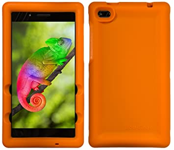 BobjGear Bobj Carcasa Resistente para Tablet Lenovo Tab 7 Essential TB-7304F, TB-7304I, TB-7304X - (Naranja)