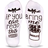 Cavertin Women's If You Can Read This Novelty Socks with Gift Box