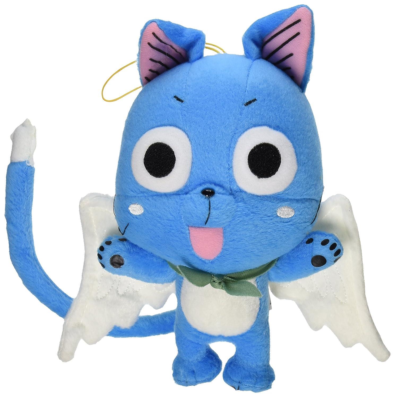 "ventas en linea Great Great Great Eastern GE-6968 Animation Official Fairy Tail Anime Happy 8"" Plush  con 60% de descuento"
