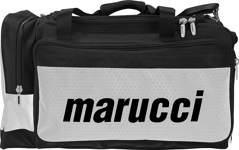 【年中無休】 Marucciチームダッフルバッグ B0146EPNJI ブラック B0146EPNJI/ホワイト ブラック/ホワイト, 家具の杜:340e35d6 --- arianechie.dominiotemporario.com