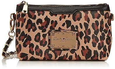 Smith   Canova Womens Misha Small Cross-Body Bag 81817 Leopard ... 6d073fb7927db