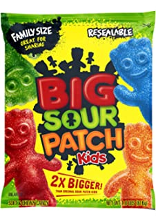 Amazon com: Sour Patch Kids Tropical Gummy Candy, 1 9 Pound Bulk Bag
