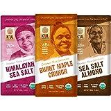 K'UL CHOCOLATE Bars | 3 Pack Chocolate | Burnt Maple Crunch Milk Chocolate | Sea Salt Almond Milk Chocolate | Himalayan…