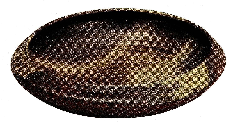 信楽焼陶器 花器 12号 古陶水盤 横幅38.0cm 332-05 B00BEPXBH4