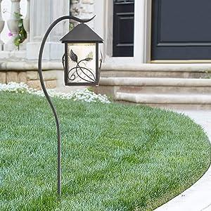 "French Garden 27"" High Bronze LED Landscape Path Light - Franklin Iron Works"