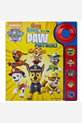 Nickelodeon - Paw Patrol - Ding Dong, It's the Paw Patrol! Sound Book - PI Kids Board book