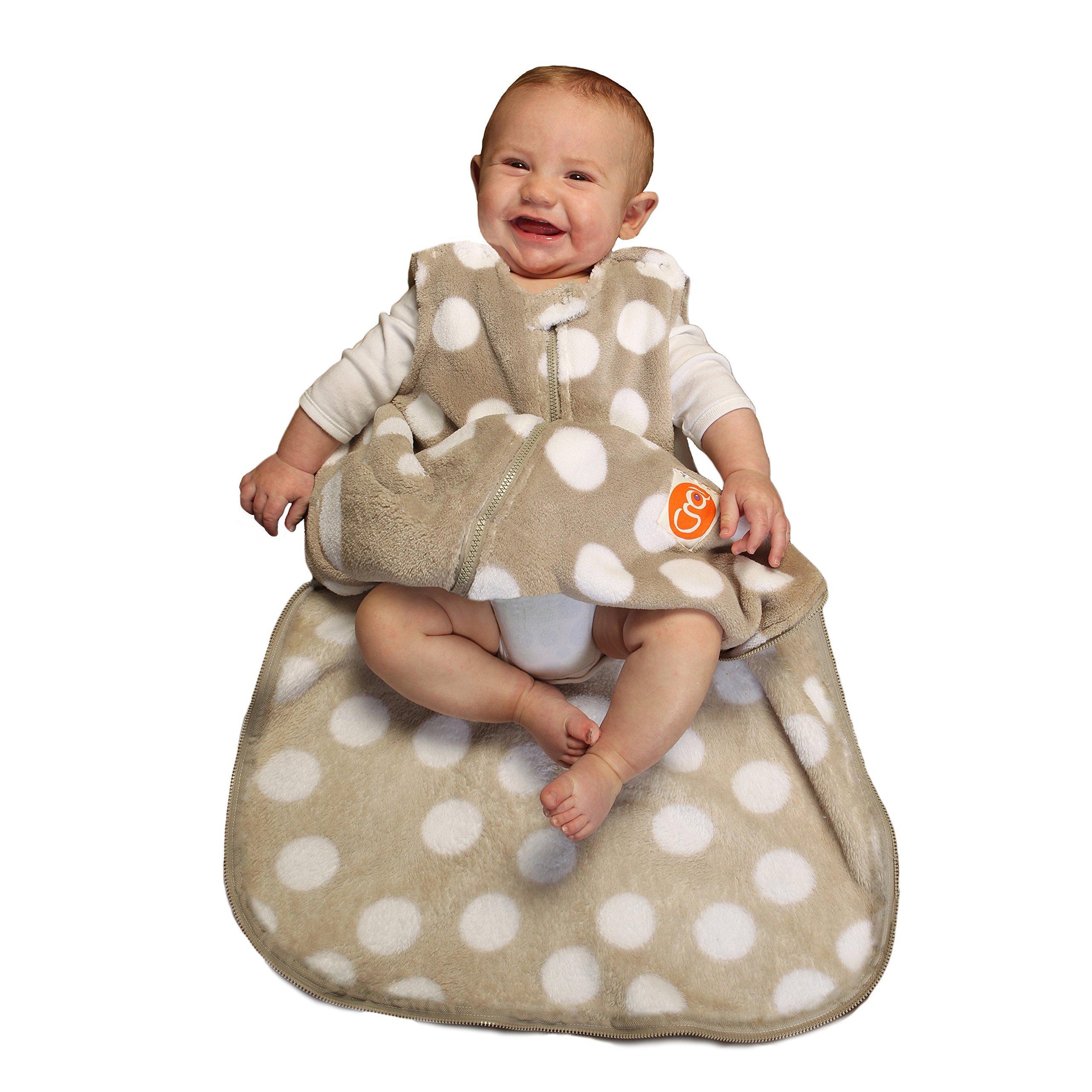 Gunapod Unisex Sleep Sack Fleece Wearable Blanket Baby Sleeping Bag with WONDERZiP by Gunapod