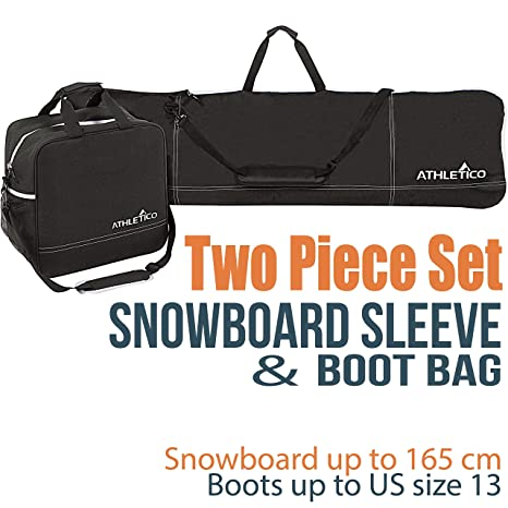 a12fd7915883 Amazon.com   Athletico Two-Piece Snowboard and Boot Bag Combo ...