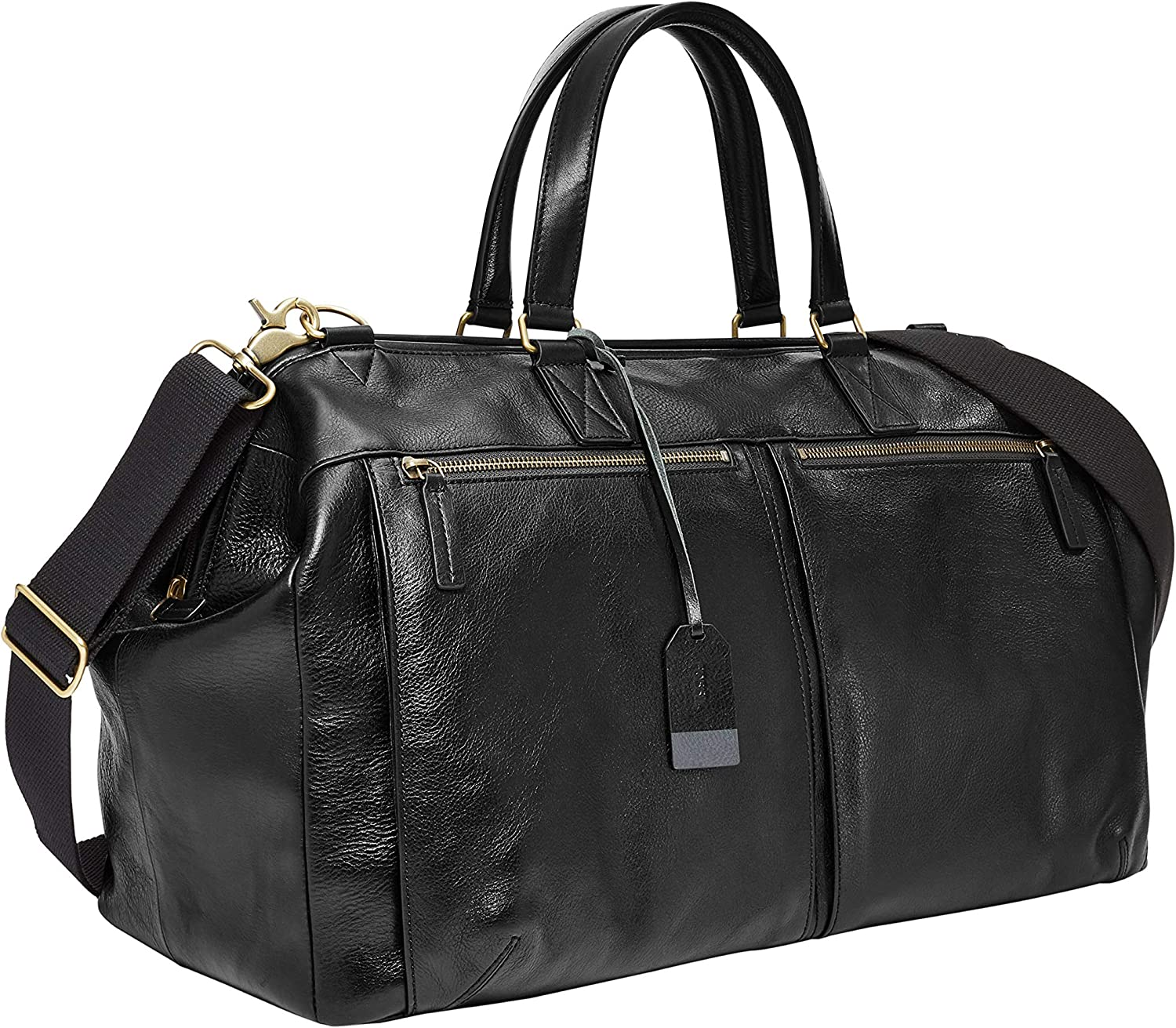 Fossil Men s Defender Leather Duffle Bag