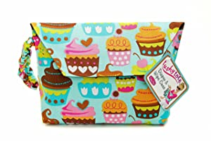 Sister Chic Tushy Tote Diaper and Wipes Case, Sweet Treats