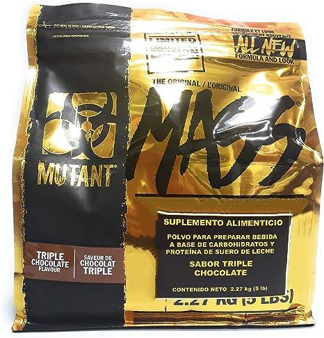 Mutant Mutant Mass Triple Chocolate - 2.27kg: Amazon.es ...