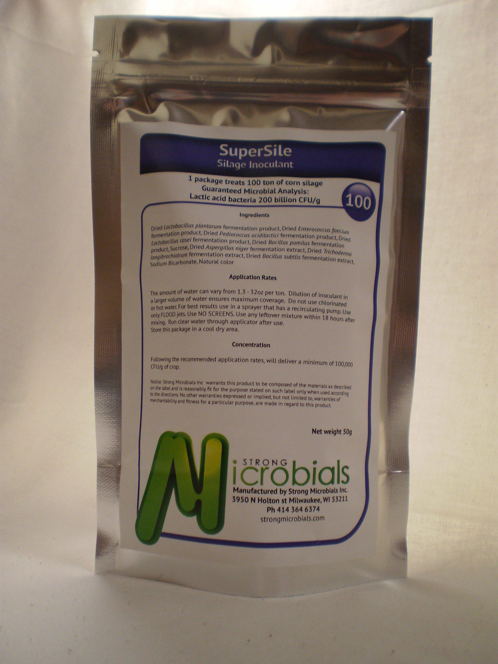 SuperSile Silage Inoculant 100 ton treatment by SuperSile