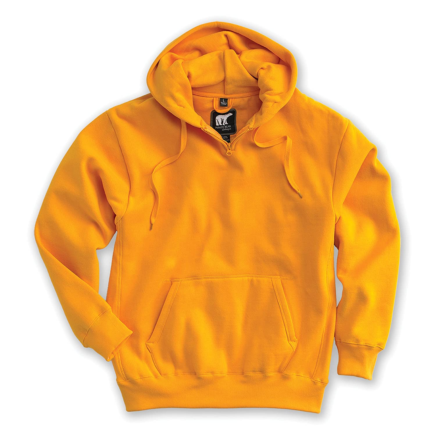 Style 1000 - Available in 18 Sizes: XXS-6XL LT-6XT Heavyweight Hoody White Bear Clothing Co