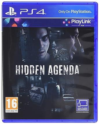 Amazon.com: Hidden Agenda /ps4: Video Games