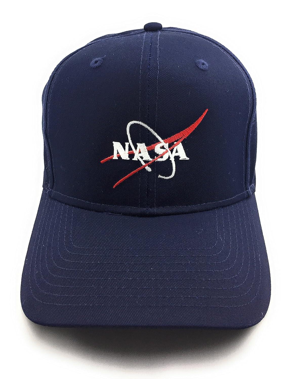 NASA Logo Embroidered PRO Style Space Baseball Cap - (Navy) at Amazon Men s  Clothing store  d81622e25a8