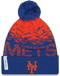 44c51363297 Amazon.com   New York Mets New Era On Field Sport Knit Beanie ...
