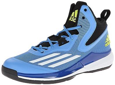 save off e45ab f036e adidas Performance Mens Title Run Basketball Shoe, Lucky BlueWhiteCore  Black,