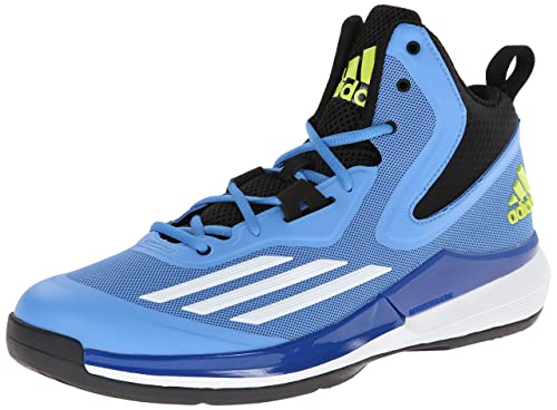 outlet store 044a9 11993 adidas Performance Men s Title Run Basketball Shoe, Lucky Blue White Core  Black,