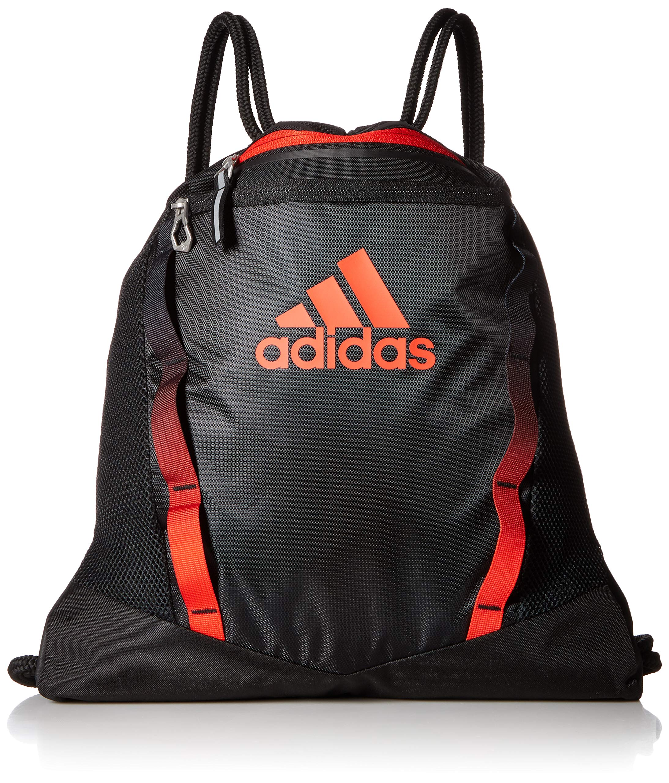 adidas Rumble II Sackpack, Black/Active Red, One Size