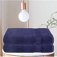 Ramanta Home - Toalla de baño, Marino, 2Pack Bath Sheet
