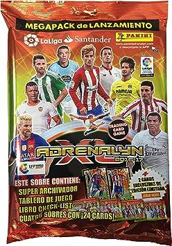 La Liga Santander - Megapack Adrenalyn XL 2016-2017 (Panini 003374SPE2): Amazon.es: Juguetes y juegos