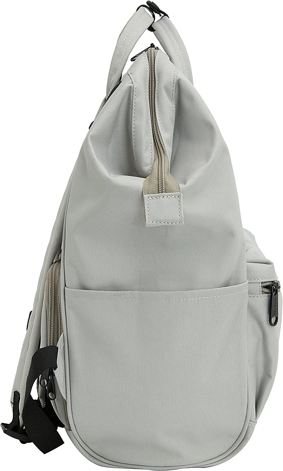 Kah/&Kee Sac /à Dos imperm/éable Ordinateur antivol College Laptop Femme Homme Gris Clair, Grand