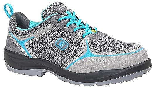 separation shoes 9f3a2 51641 ELTEN MILA Low ESD S1 Damen Sicherheitsschuhe, Arbeitsschuhe,  Damen-Sicherheitshalbschuh, Zertifiziert nach EN ISO 20345 : S1, Stahlkappe  (Grau), EU ...