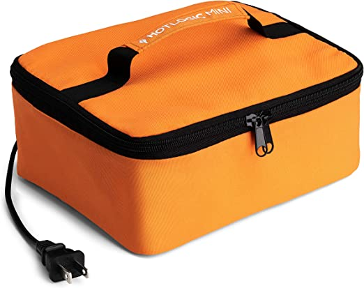 Hot Logic 16801060003 Food Warming Tote, Lunch, Orange