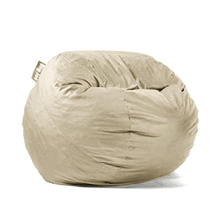 Wondrous Big Joe Lenox Fuf Foam Filled Bean Bag Medium Oat Alphanode Cool Chair Designs And Ideas Alphanodeonline