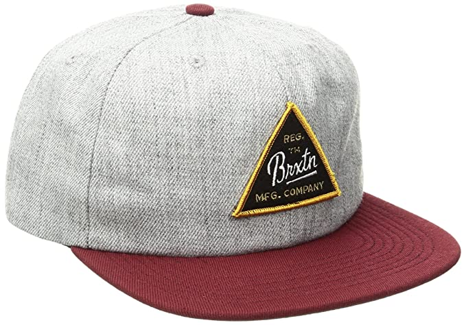 sports shoes f7555 b4374 Amazon.com  Brixton Men s Cue Snapback, Chive, One Size  Clothing