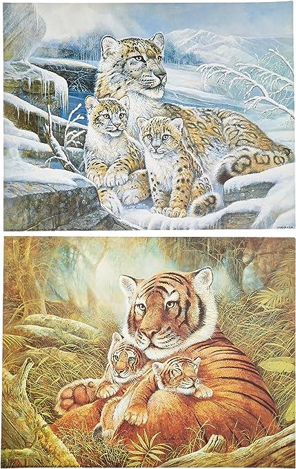 Animal Poster WHITE SNOW LEOPARD 3485 Photo Poster Print Art A0 A1 A2 A3 A4