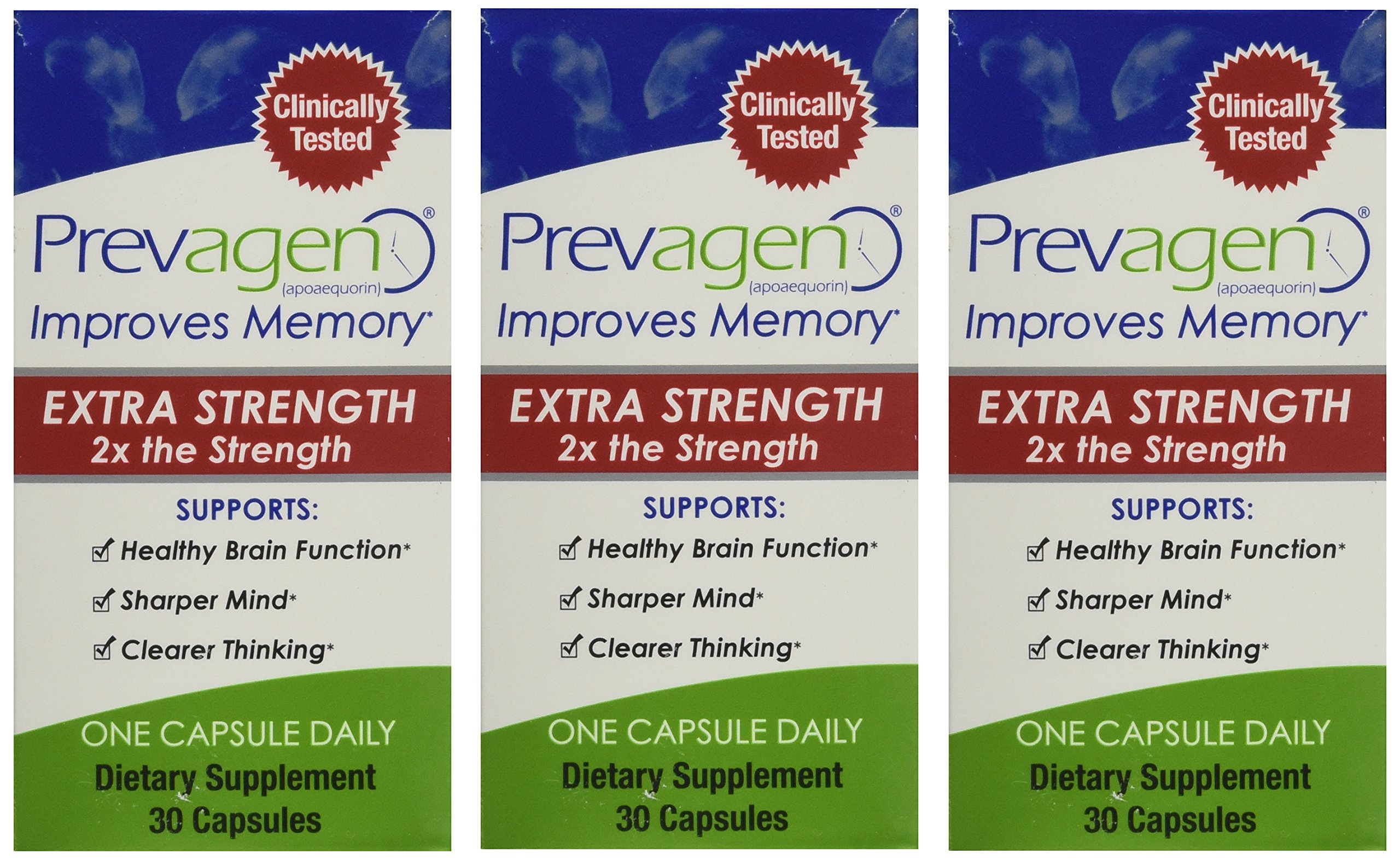 Prevagen Extra Strength - 90 Capsules by Prevagen (Quincy-Bioscience) (Image #1)