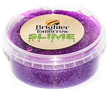 Amazon com: Unicorn Purple Glitter Slime: Health & Personal Care