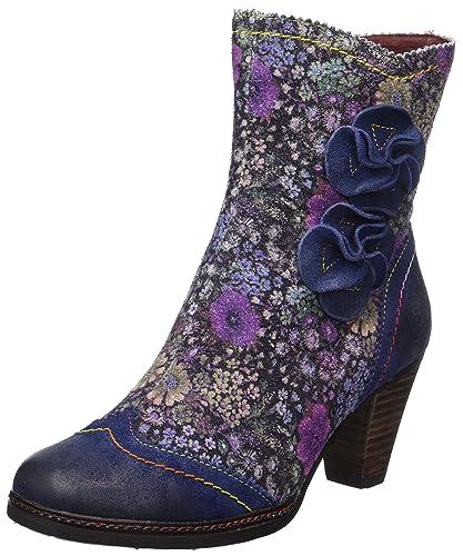 Laura Vita angelique17 noir - Chaussures Bottine Femme
