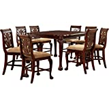 Exceptionnel Furniture Of America Bonaventure 9 Piece Traditional Style Pub Dining Set