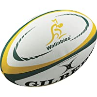 Gilbert Australia International Replica Rugby Ball - Size 5 -