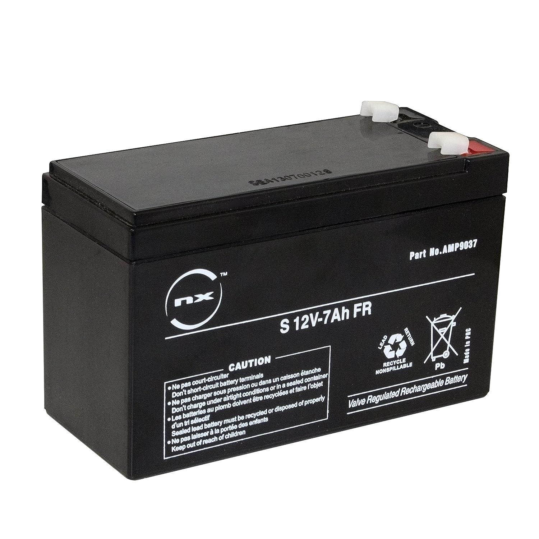 MaxPower bat0402 12V 7Ah Gel de batterie motos, quad, jouets, bateaux, caravanes, caisse, moteur ...