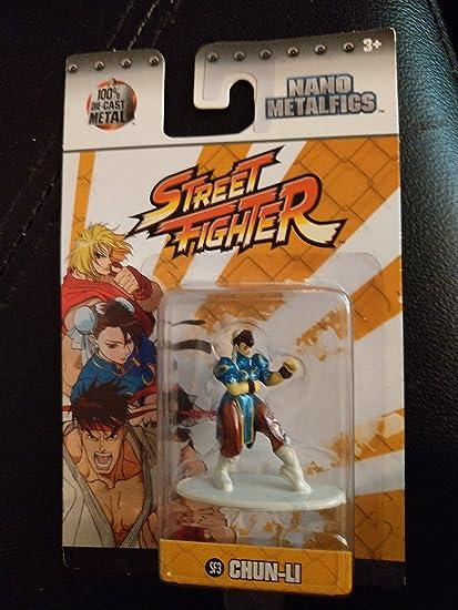1.5 Inch Diecast Nano Metal Figure by Jada Jada Toys Street Fighter Sagat SF10
