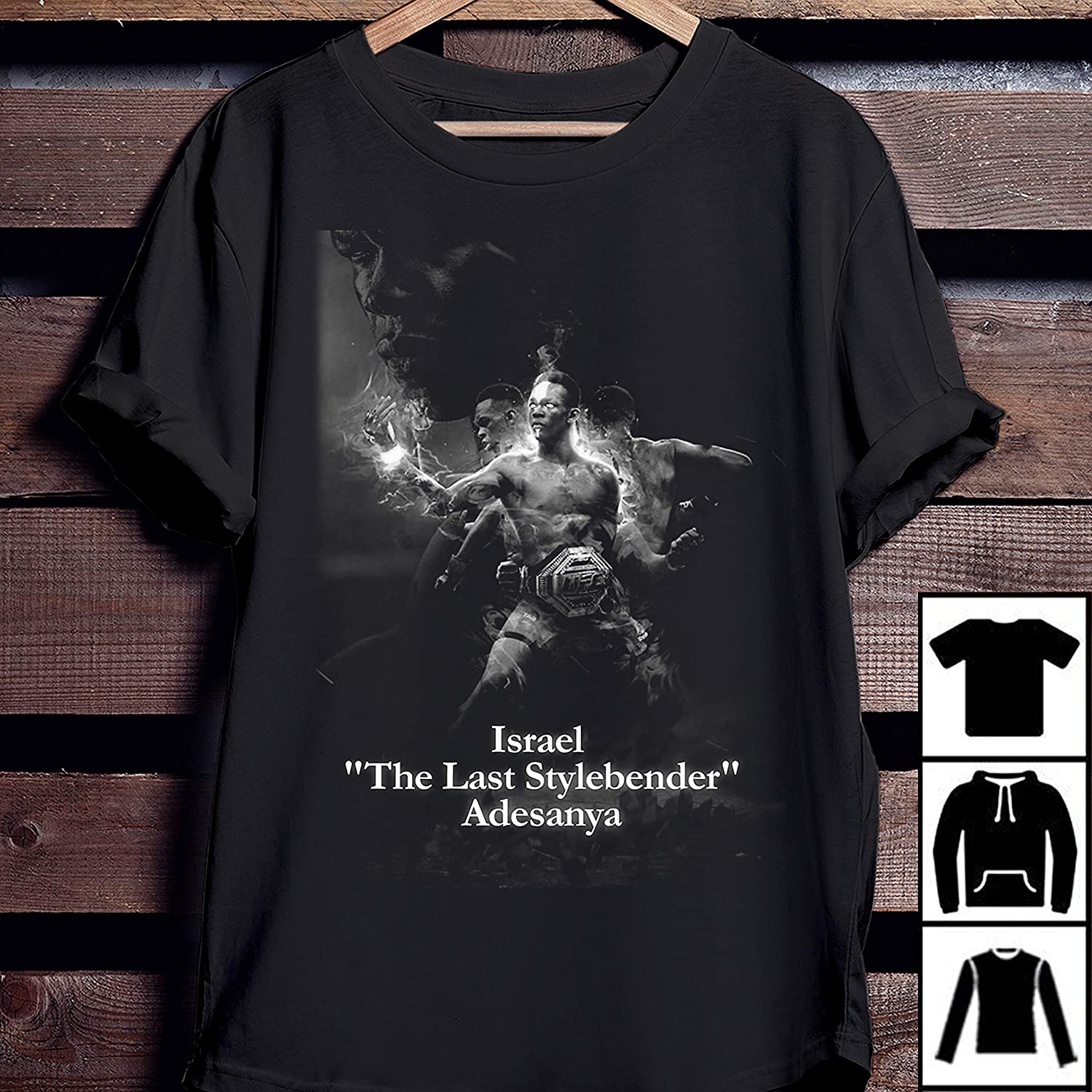 Amazon.com Stylebender T Shirt Israel Adesanya The Last