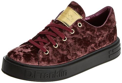 D. Franklin Basket, Zapatillas Altas para Mujer, Rosa (Magenta), 38 EU: Amazon.es: Zapatos y complementos