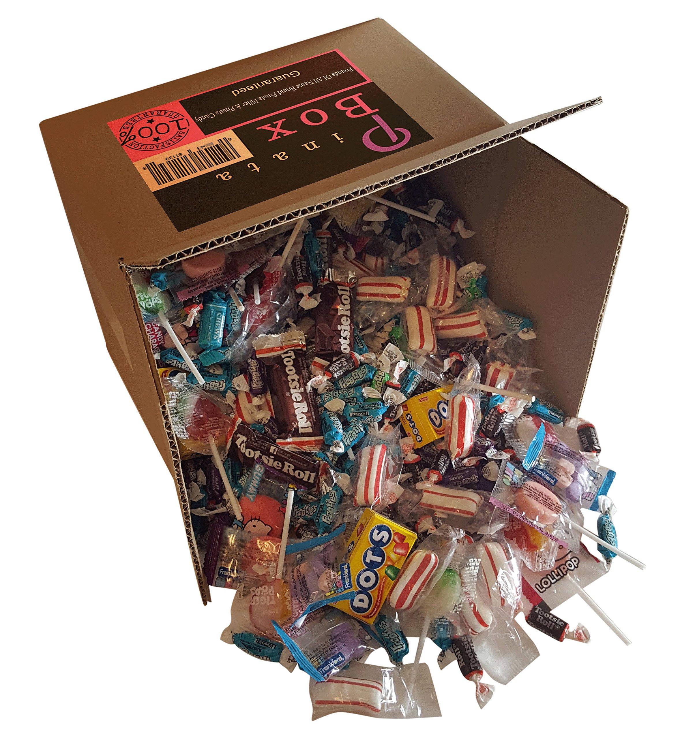 Pinata Box Brand Candy Assortment & Pinata Filler (104 oz) by Pinata Box