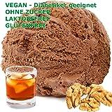 1 kg de nuez ron helado de chocolate en polvo sabor gianduja vegana - Azúcar - LACTOSA - GLUTEN - bajo en grasa para los…