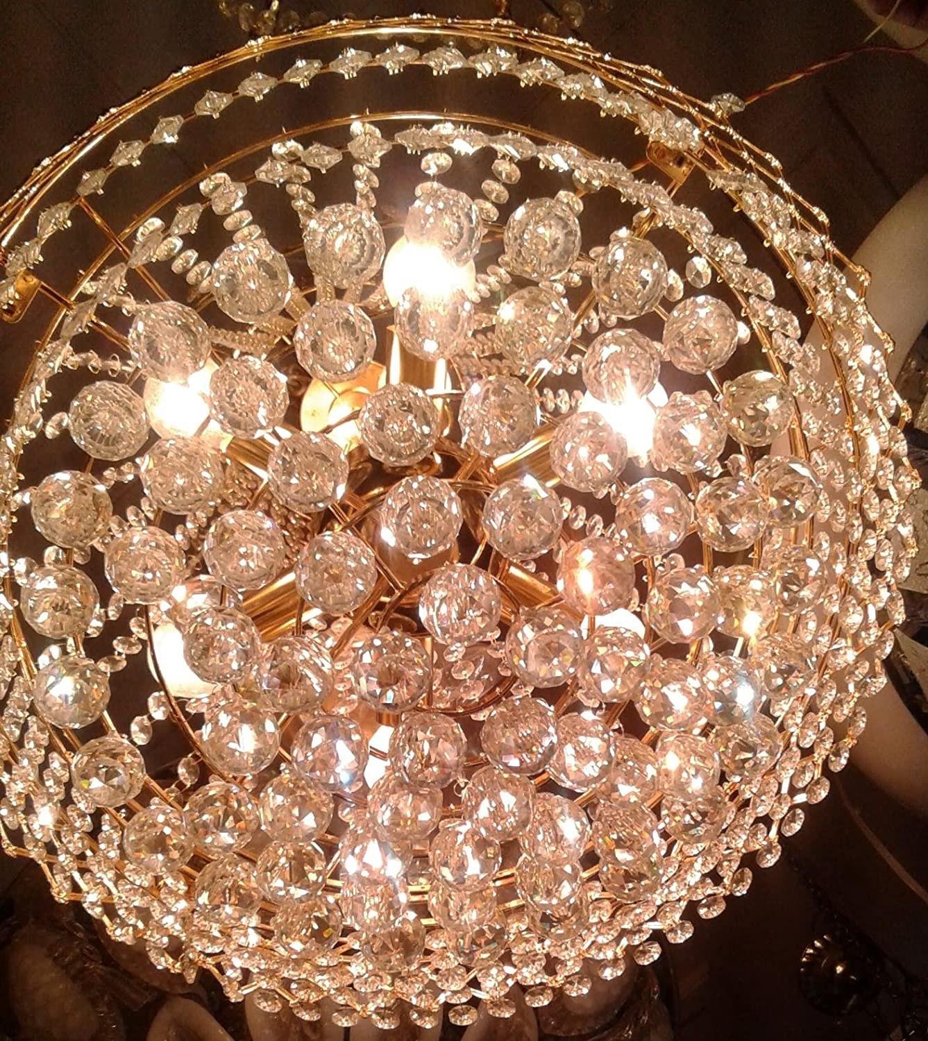 Buy generic jhoomer ceiling light decorative glass chandelier with 3 colour and sound system red online at low prices in india amazon in